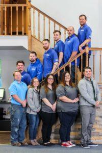 Aqua 100 Team Photo